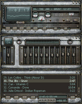Bunker Winamp Skins Screenshot