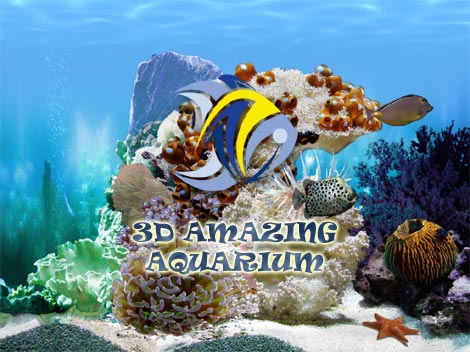 Amazing 3D Aquarium Screenshot