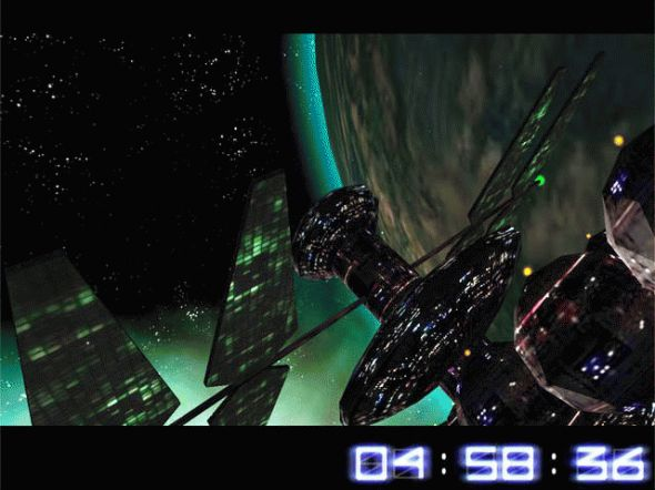 Space Trip 3D Screensaver Screenshot