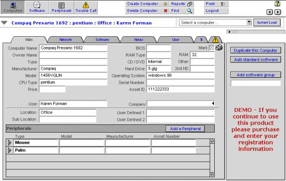 Computer Admin Pro Screenshot