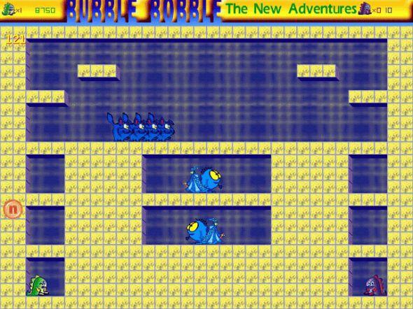 Bubble Bobble ScreenSaver Screenshot