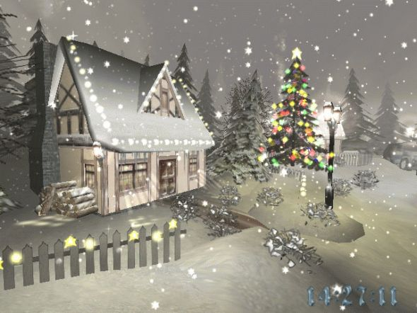 3D Christmas Time Screensaver Screenshot