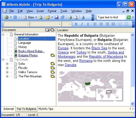 MyInfo Screenshot
