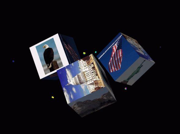 America (USA) Screensaver Screenshot